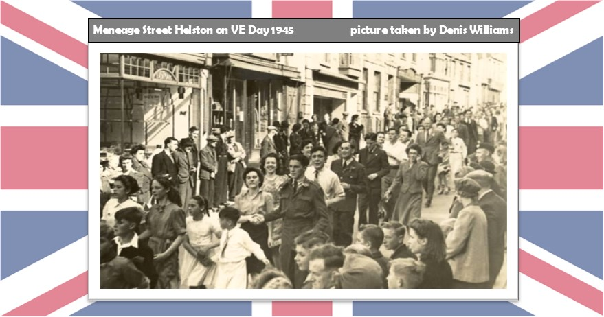 Meneage St, Helston VE Day 1945