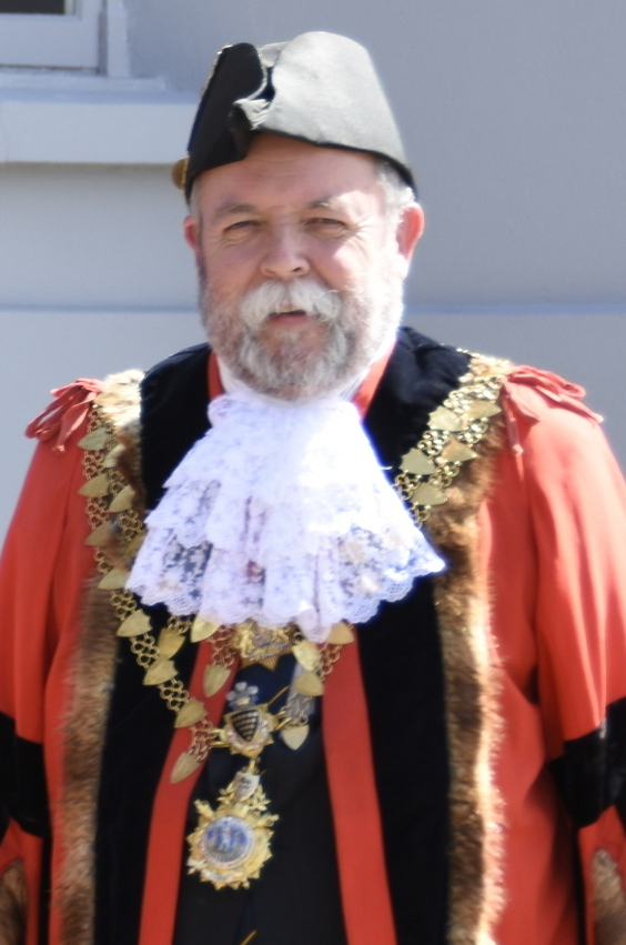 Mayor of Helston, Councillor John Martin