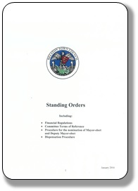 Financial Regulations Front Cover